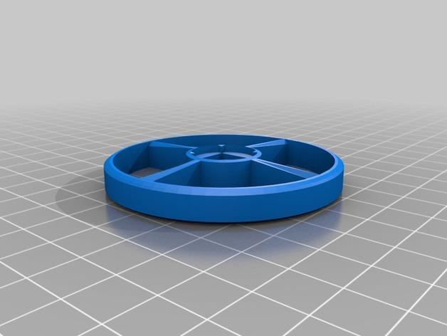 涡轮驱动的小汽车 3D模型  图3