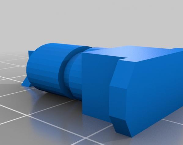 涡轮驱动的小汽车 3D模型  图7
