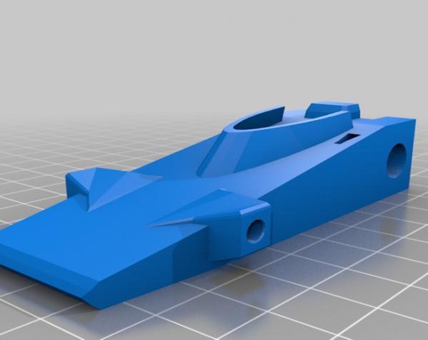 涡轮驱动的小汽车 3D模型  图5