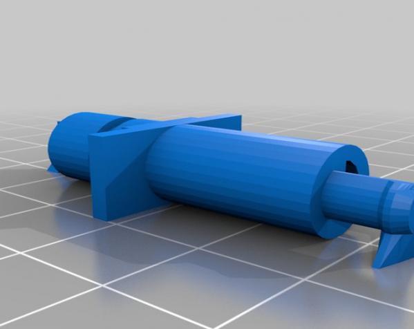 涡轮驱动的小汽车 3D模型  图6