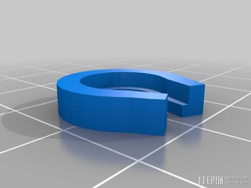 涡轮驱动的小汽车 3D模型  图10