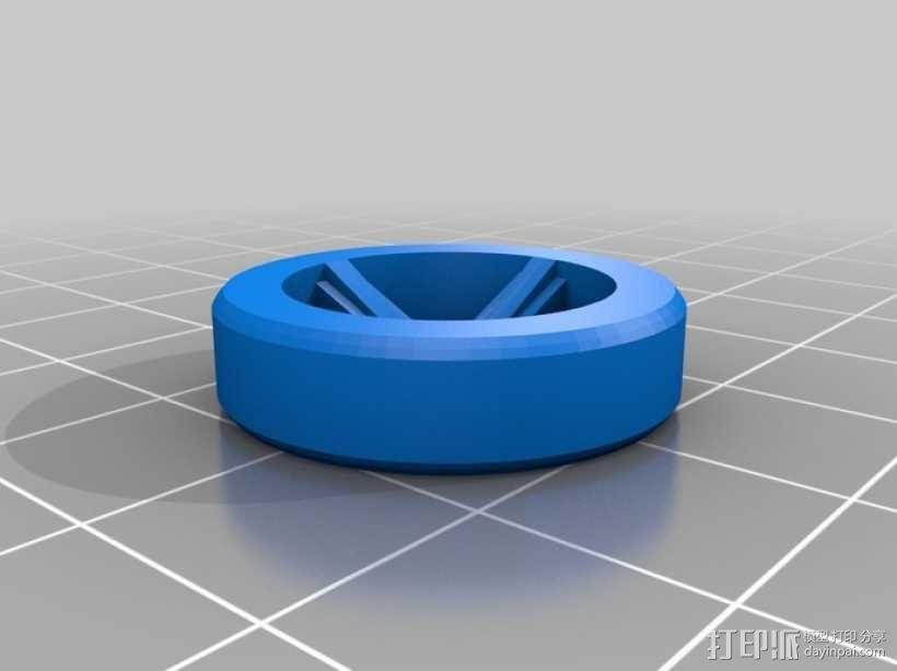 涡轮驱动的小汽车 3D模型  图11