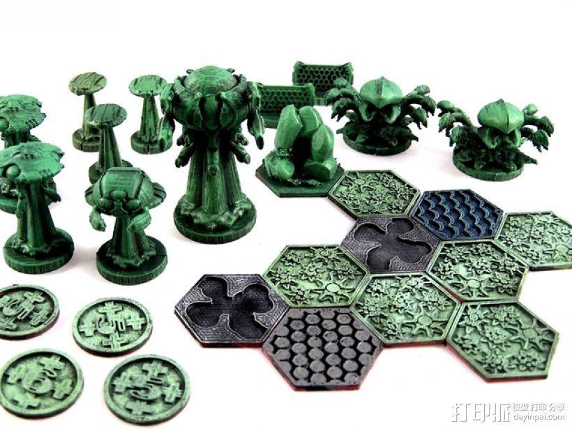诺亚方舟棋牌游戏 3D模型  图1