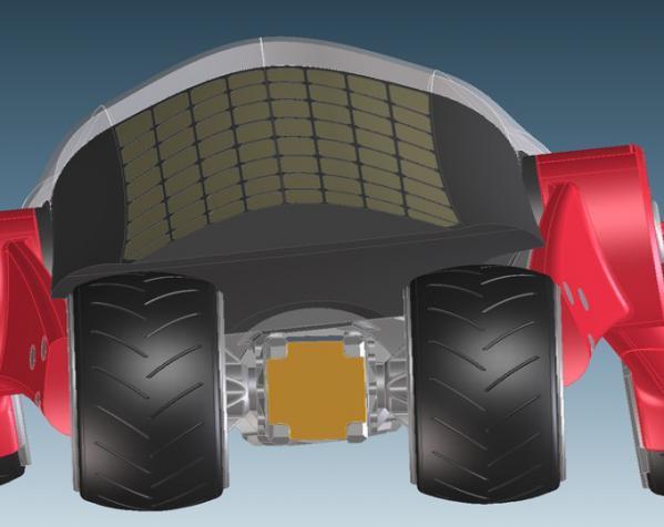 三轮车2040 3D模型  图9