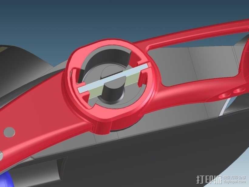 三轮车2040 3D模型  图5