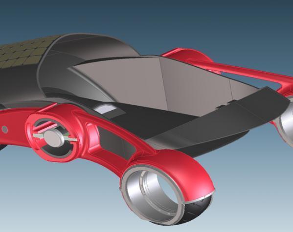 三轮车2040 3D模型  图7
