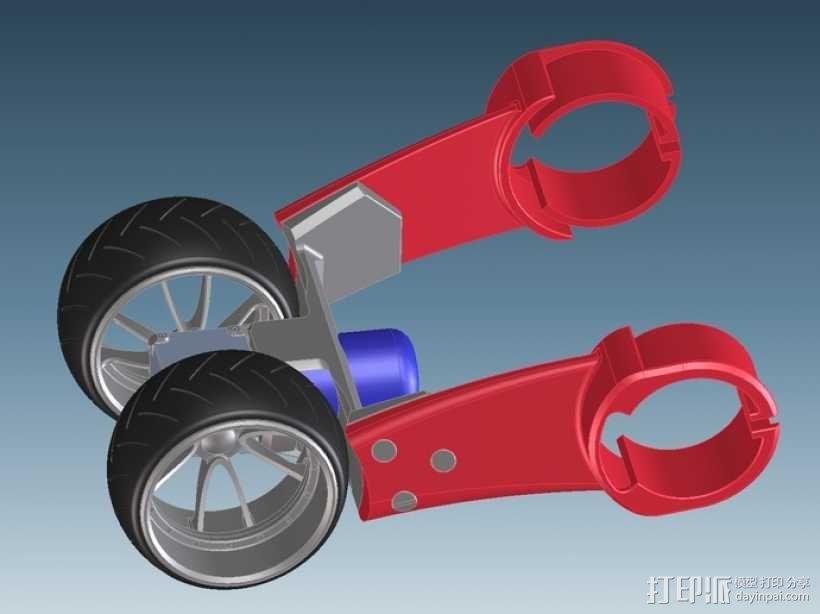 三轮车2040 3D模型  图6