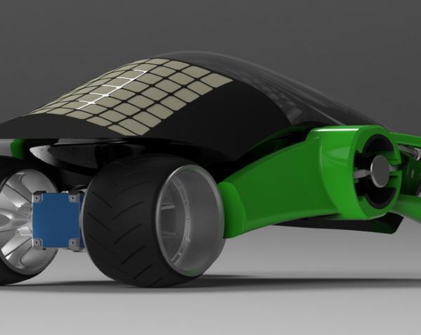 三轮车2040 3D模型  图11