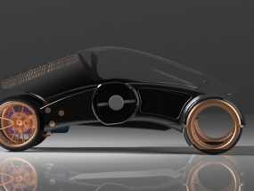 三轮车2040 3D模型