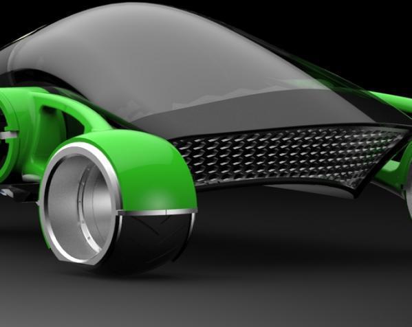 三轮车2040 3D模型  图12