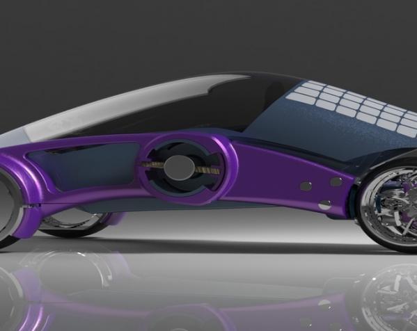 三轮车2040 3D模型  图13