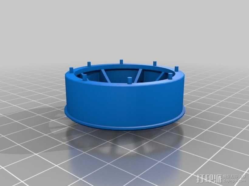 三轮车2040 3D模型  图36