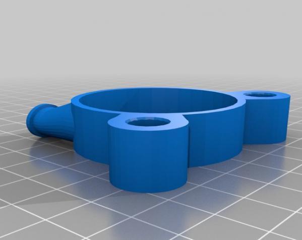 气球动力涡轮 3D模型  图1
