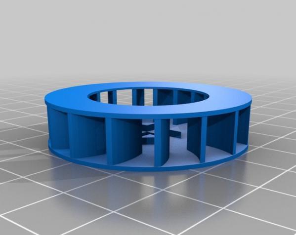 气球动力涡轮 3D模型  图2