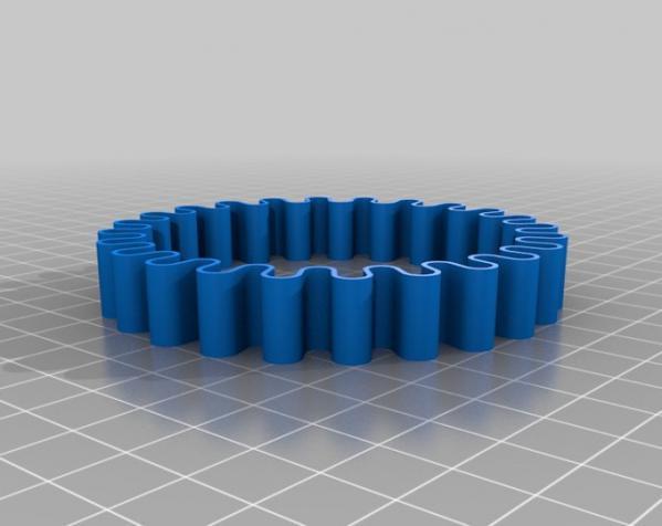 可定制化的弹力带 3D模型  图4