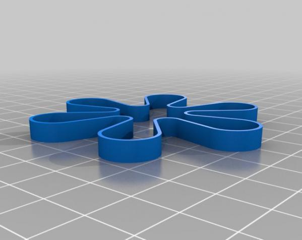可定制化的弹力带 3D模型  图2