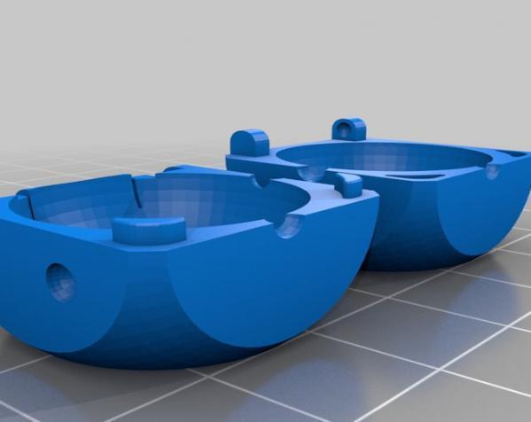 骰子盒 3D模型  图1