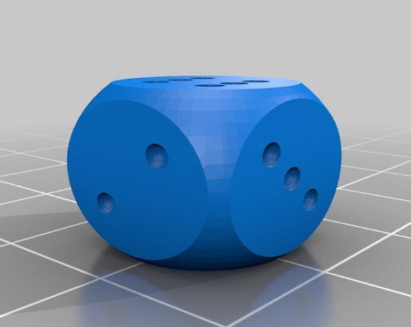 骰子盒 3D模型  图2