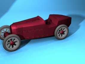 布加迪风格汽车 3D模型