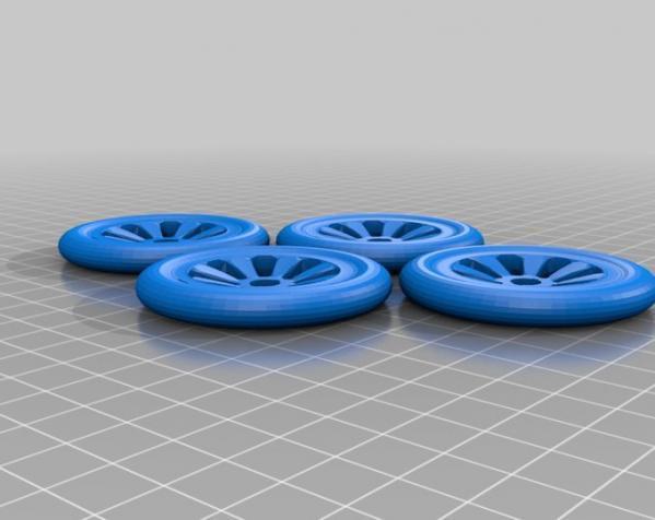 布加迪风格汽车 3D模型  图4