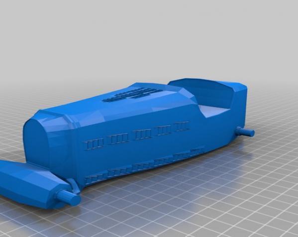 布加迪风格汽车 3D模型  图5