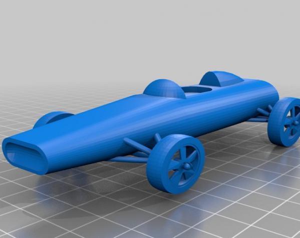 可定制化玩具车 3D模型  图3