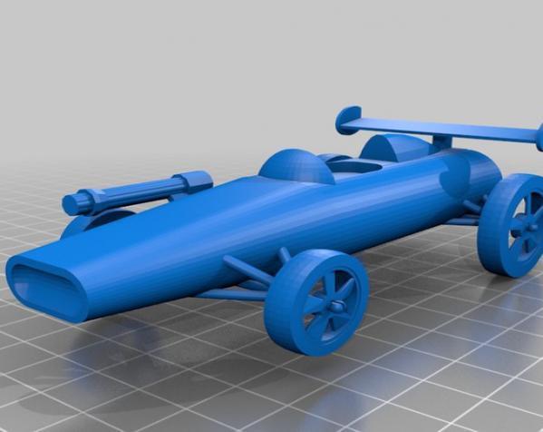 可定制化玩具车 3D模型  图5