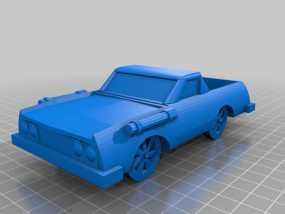 可定制化玩具车 3D模型