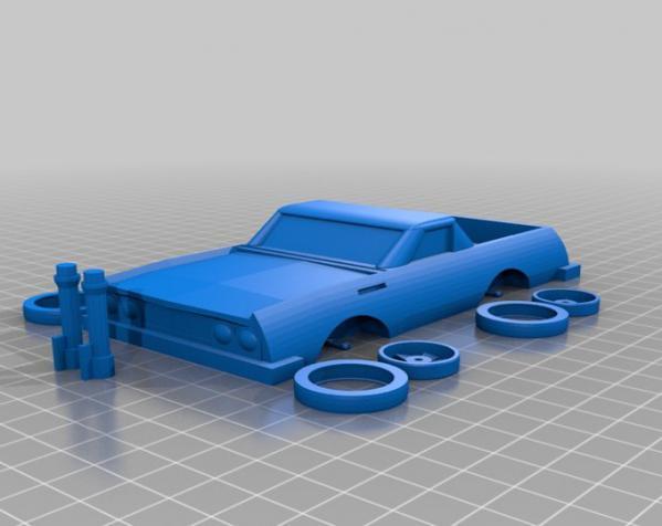 可定制化玩具车 3D模型  图7