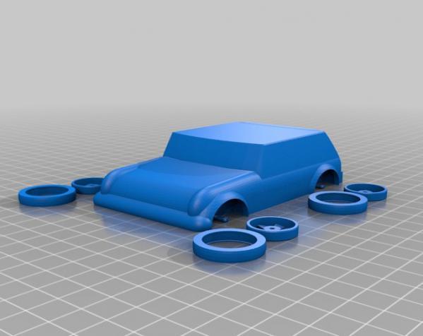 可定制化玩具车 3D模型  图8