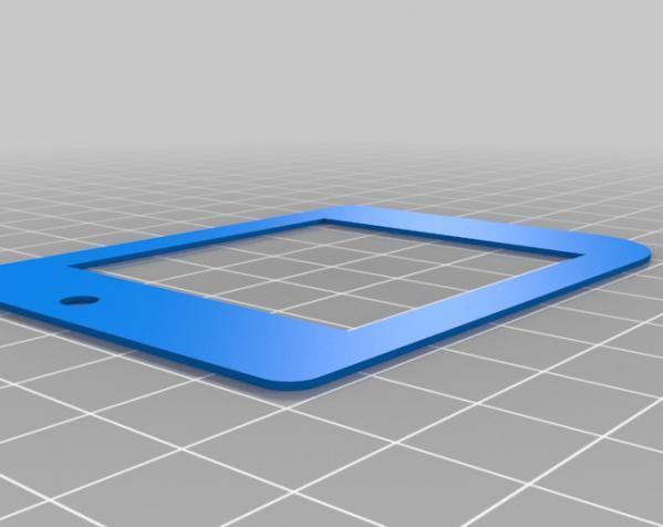 Game Boy掌上游戏机的遮光板和按钮 3D模型  图2