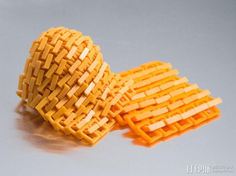 锁子甲 3D模型  图1