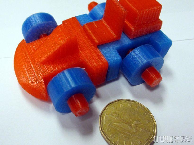 迷你赛车模型 3D模型  图1