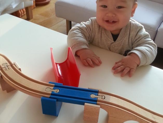 火车轨道 3D模型  图3