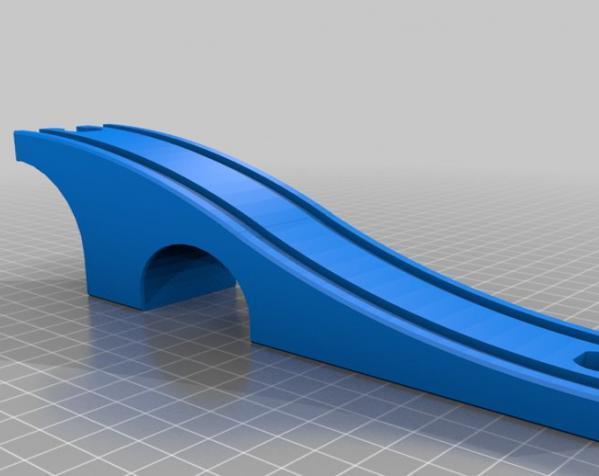 火车轨道 3D模型  图7