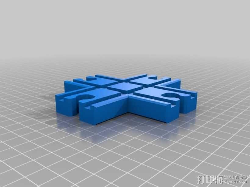 火车轨道 3D模型  图12