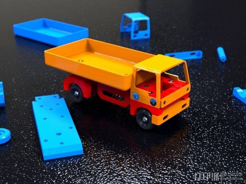 卡车V1 3D模型  图1