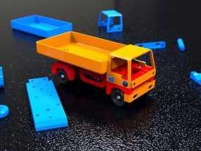卡车V1 3D模型