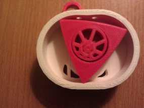 Wankel发动机模型 3D模型