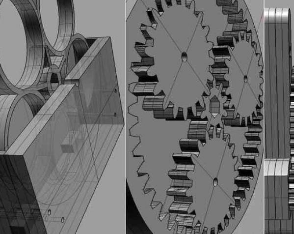 泡泡机V0.1 3D模型  图4