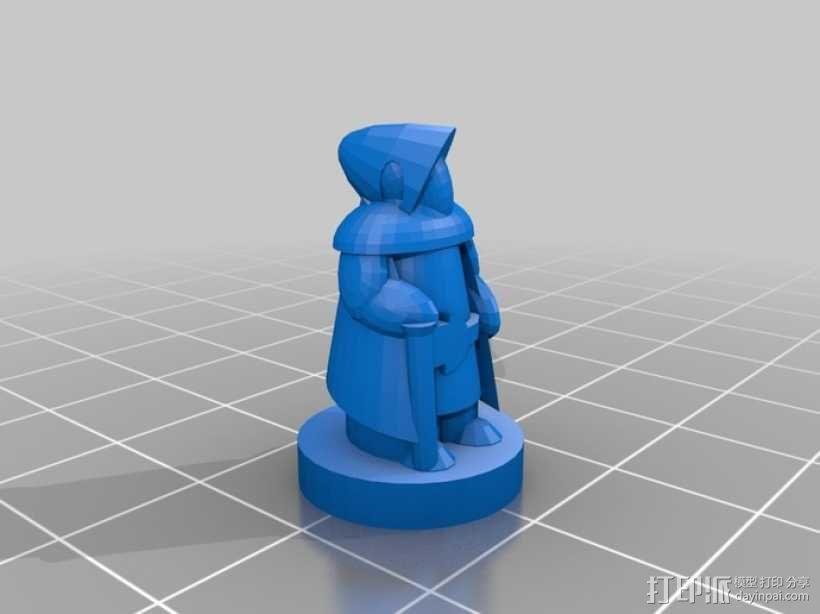 Pocket-Tactics系列游戏棋盘 3D模型  图8