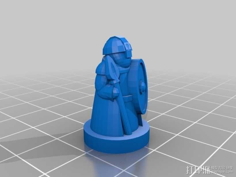 Pocket-Tactics系列游戏棋盘 3D模型  图11