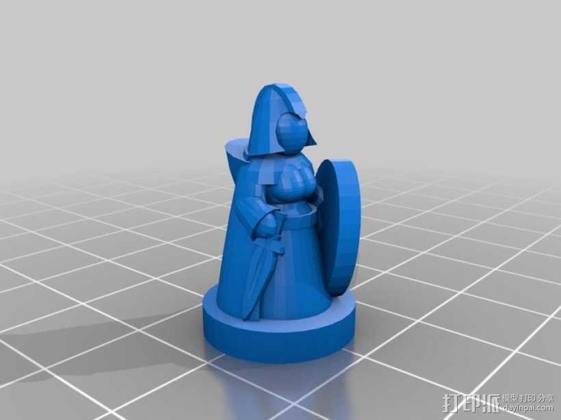 Pocket-Tactics系列游戏棋盘 3D模型  图10