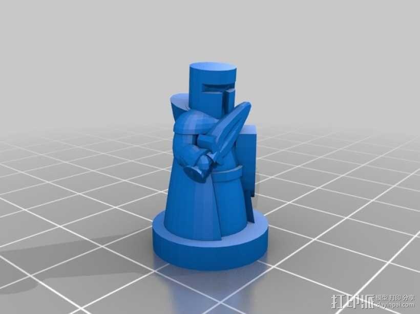 Pocket-Tactics系列游戏棋盘 3D模型  图12