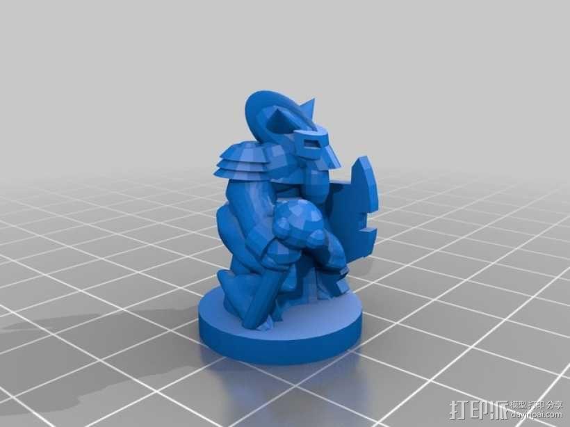 Pocket-Tactics系列游戏棋盘 3D模型  图14