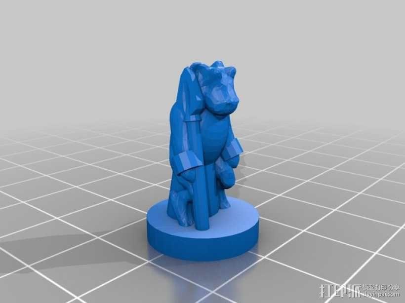 Pocket-Tactics系列游戏棋盘 3D模型  图15
