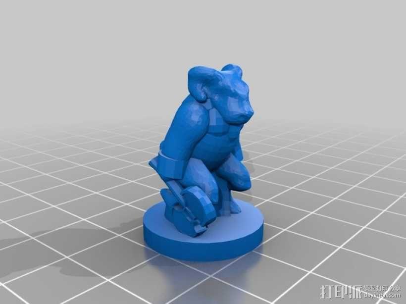 Pocket-Tactics系列游戏棋盘 3D模型  图16