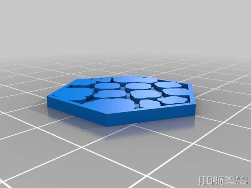 Pocket-Tactics系列游戏棋盘 3D模型  图21