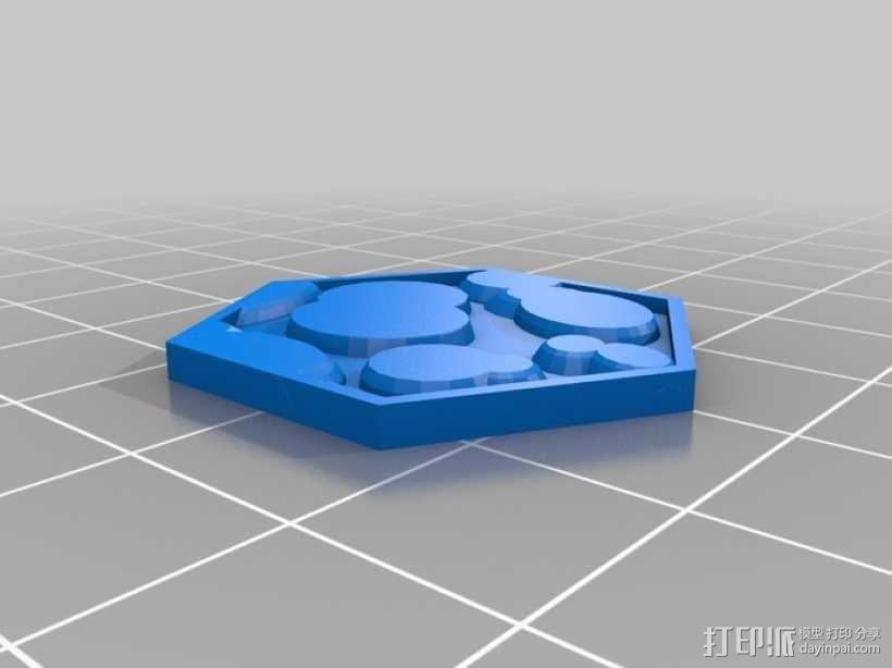 Pocket-Tactics系列游戏棋盘 3D模型  图23