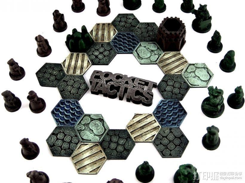 Pocket-Tactics系列游戏棋盘 3D模型  图26